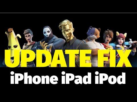 Fortnite Update FIX For IPhone IPad IPod | Fortnite Battle Royale | Fortnite App Fix | Mobile
