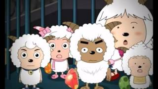 Chinese Cartoon Xi Yang Yang Pleasant Goat and Big Big Wolf Mandarin   喜羊羊与灰太狼   EP59   地雷战 國語