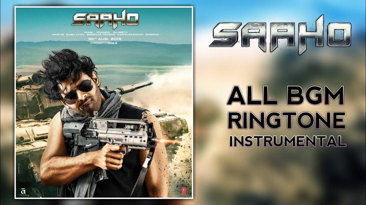 Saaho Movie BGM   Ringtone   Instrumental   Theme Music