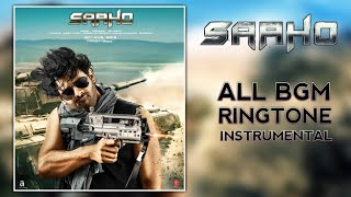 Saaho Movie BGM | Ringtone | Instrumental | Theme Music