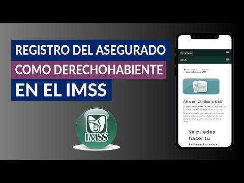 Cómo Realizar el Registro del Asegurado o Pensionado como Derechohabiente en el IMSS