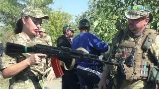 Година ТВ - Учбовий збір загону територіальної оборони Кобеляцького району