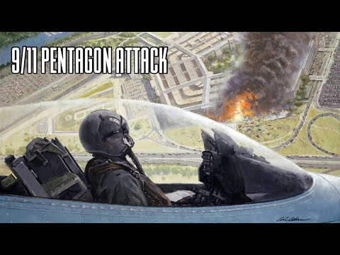 9/11 Pentagon Strike | American Airlines Flight 77 | Crash Animation