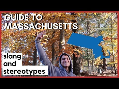 MASSACHUSETTS STEREOTYPES/SLANG