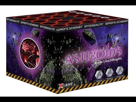 Xplode Asteroids Feuerwerk Neuheit 2016