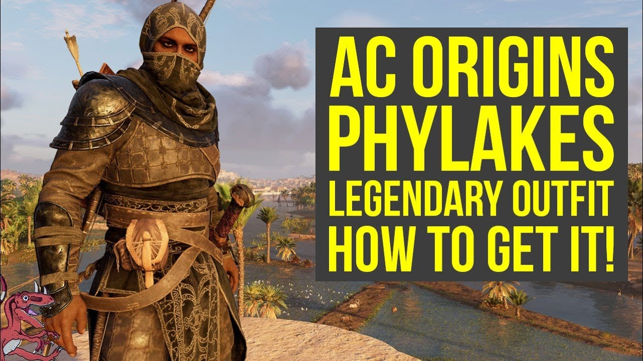Assassinu0026#39;s Creed Origins Tips PHYLAKES OUTFIT Gameplay U0026 How To Get It (AC Origins Outfits ...
