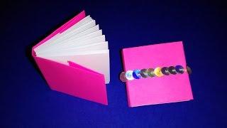 Как сделать дневник. Оригами мини-книжка. Подарок на Пасху(Бумажная книжка. Как сделать мини-книгу из бумаги. Цветок из бумаги. Подарок на день матери. Пасхальные..., 2015-03-12T18:21:43.000Z)