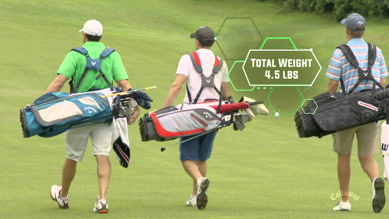 f8aa540968 2016 Callaway Golf Hyper-Lite 3 Stand Bag - YouTube