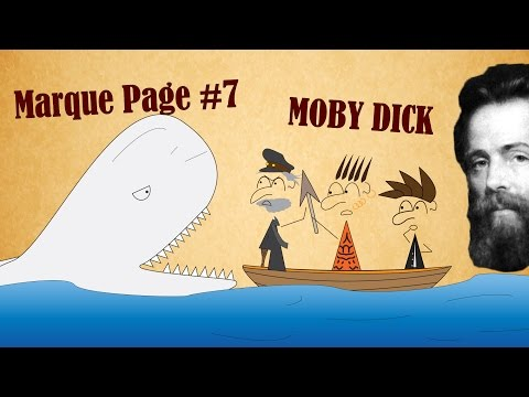 Le Marque-Page #7 : Moby dick - Herman Melville