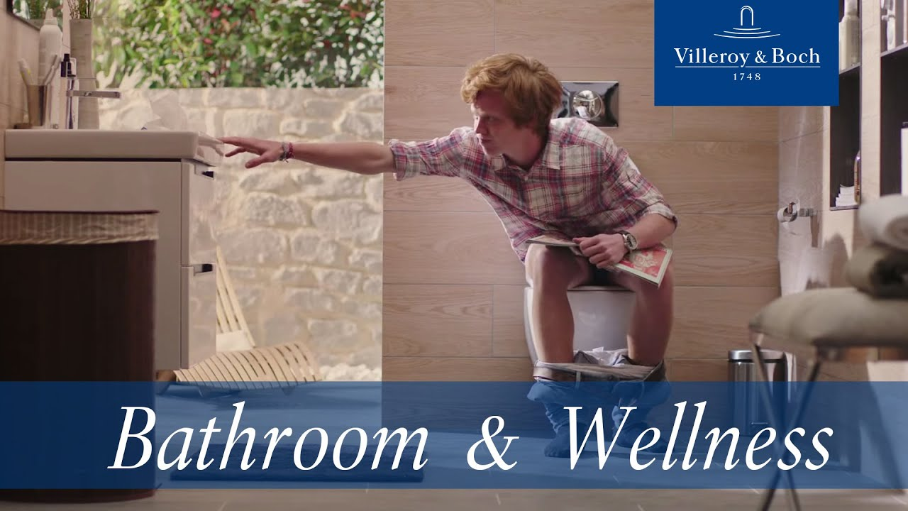 A day in a life of a toilet new commercial Villeroy Boch YouTube