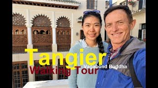 Tangier Morocco Free Walking Tour Video and Map
