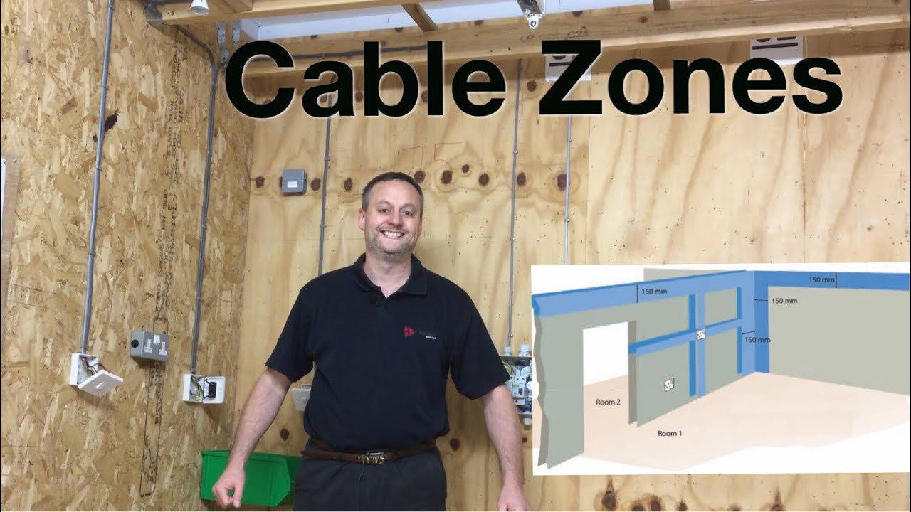 The Prescribed Zones For Wiring Cables In Wall Or Partitions Switch Heights In Domestic Dwellings Youtube