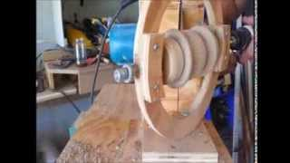 Making A Ball With A Circular Saw!