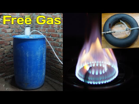 Amazing idea to use free gas from garbage    Biogas Plant