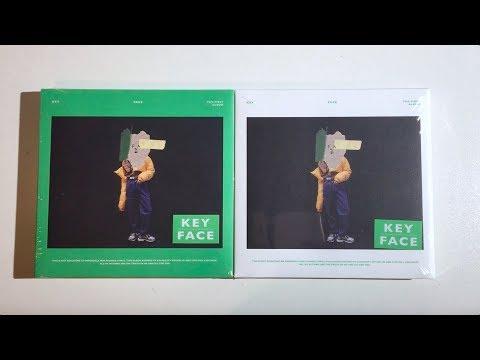 ♡Unboxing Key 키 1st Studio Album FACE 페이스 (Green & White Ver.)♡
