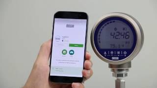 """myWIKA device"" smartphone app"