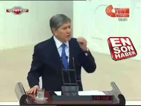 Türk Birliği Kurulmalı   Almazbek Atambayev