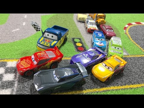 【re-edit】Disney Pixar Cars 3 : Race : Cars 3 tournament : From qualifying until the final