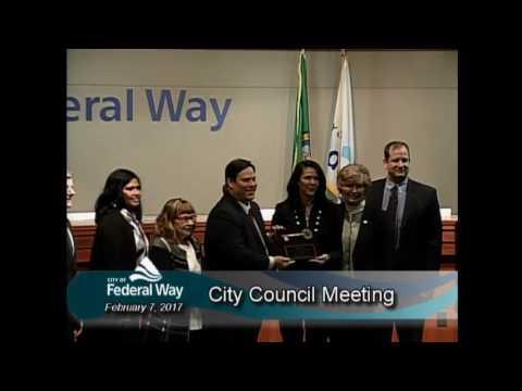 02/07/2017 - Federal Way City Council - Regular Meeting