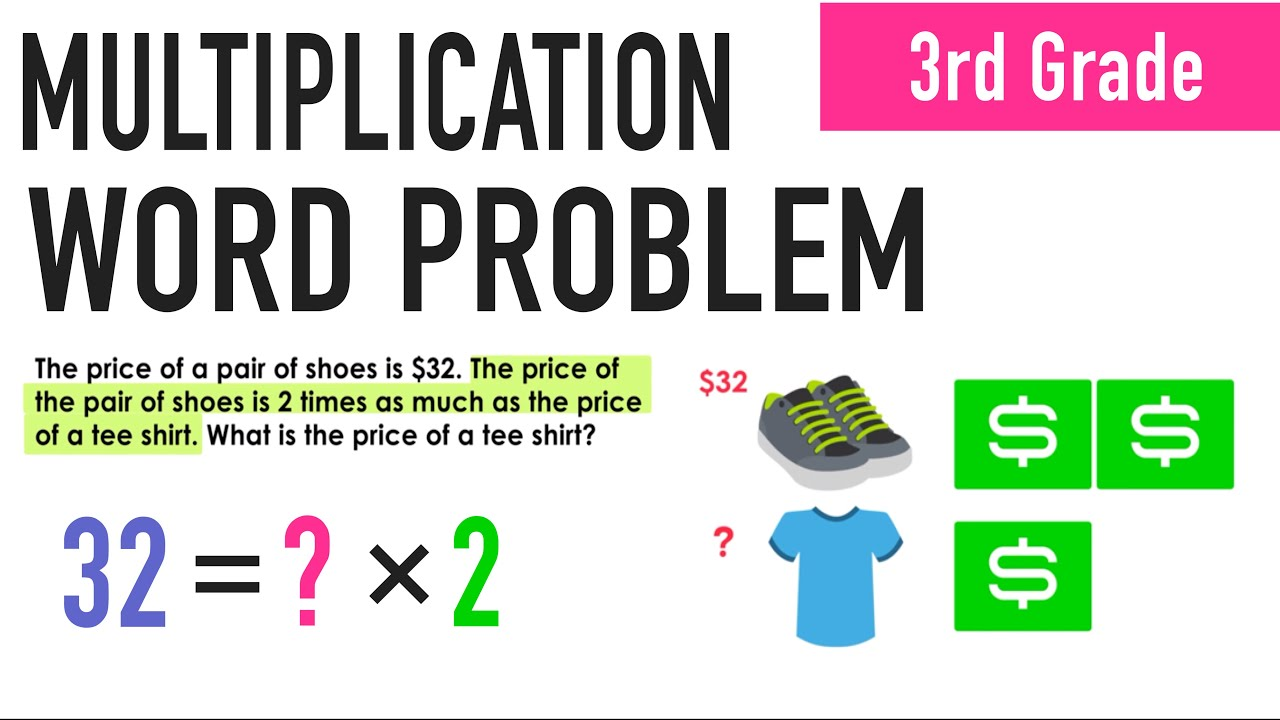 ✶PRACTICE WITH MULTIPLICATION WORD PROBLEMS - YouTube