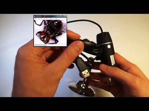 Электронный (цифровой) микроскоп USB