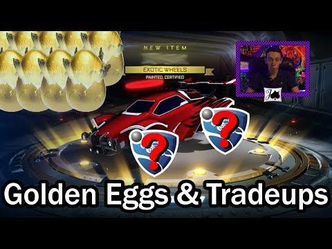 10 More Golden Eggs - Great Pulls, Mediocre Tradeups (Rocket League) thumbnail