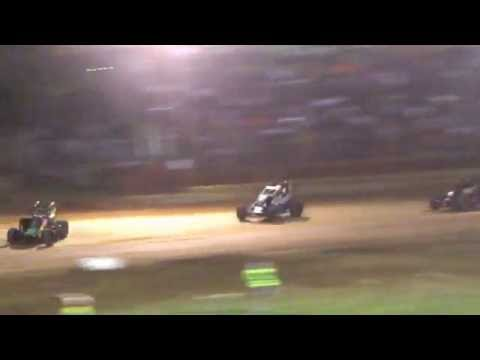 Lincoln Park Speedway USAC 7/14/2016