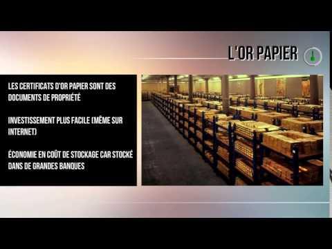 Comment et combien investir en Or - Interor Paris