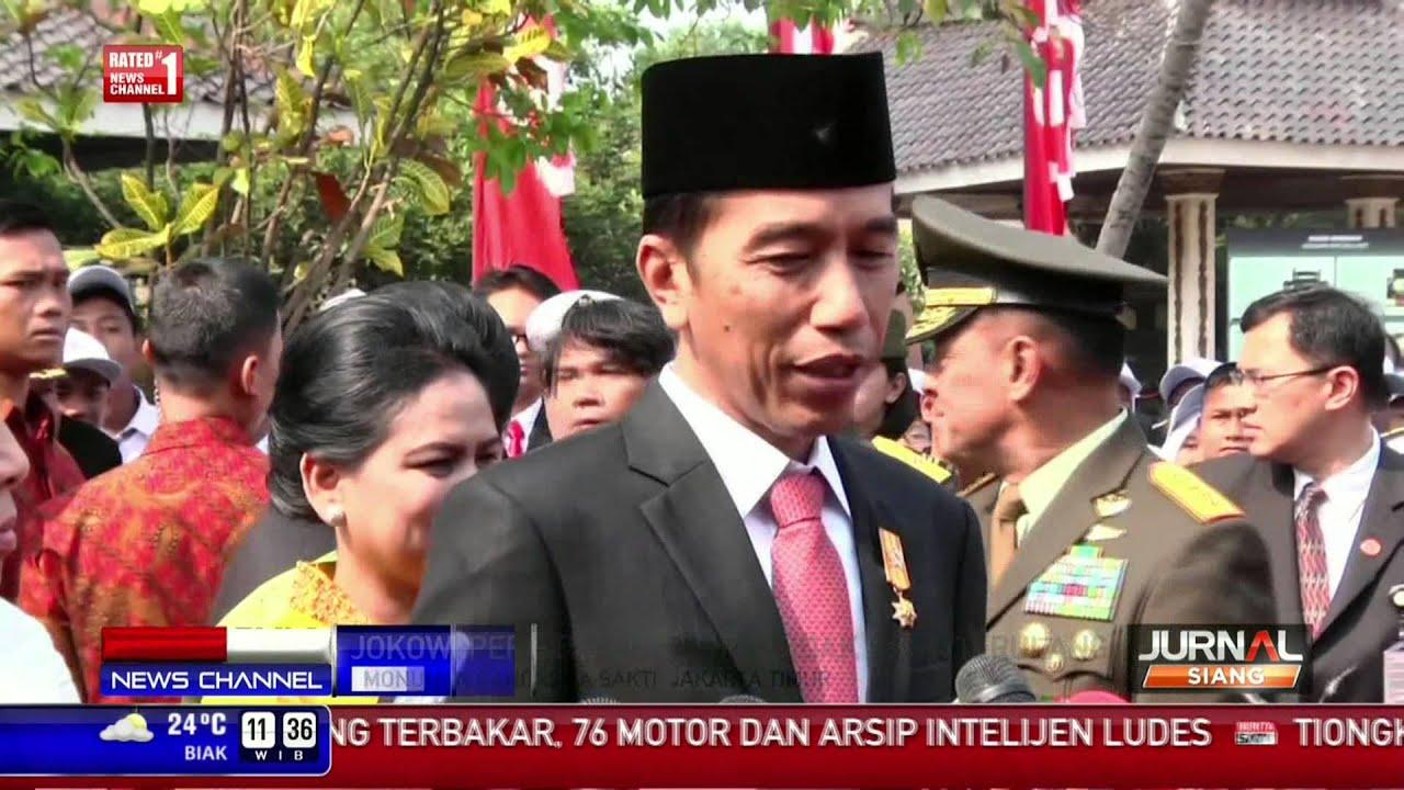 Hari Kesaktian Pancasila, Jokowi Bertindak Sebagai ...