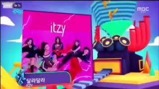 """Itzy """"Dalla Dalla"""" 2nd win @Show Music core"""