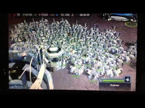 Supreme Commander  Free Build Glitch