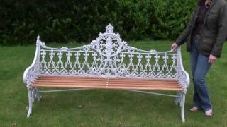 Coalbrookdale Gothic Pattern Garden Bench