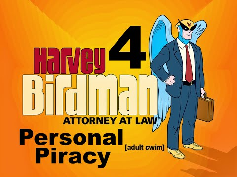 Harvey Birdman: Attorney At Law - Personal Piracy