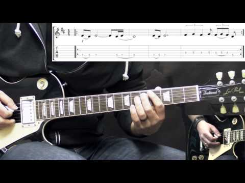 Black Sabbath - Iron Man - Solos - Metal Guitar Lesson (with Tabs)