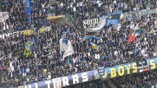 Inter - Genoa 5-0: Tifo Curva Nord Milano