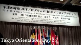 JET Programme Tokyo Orientation 2013