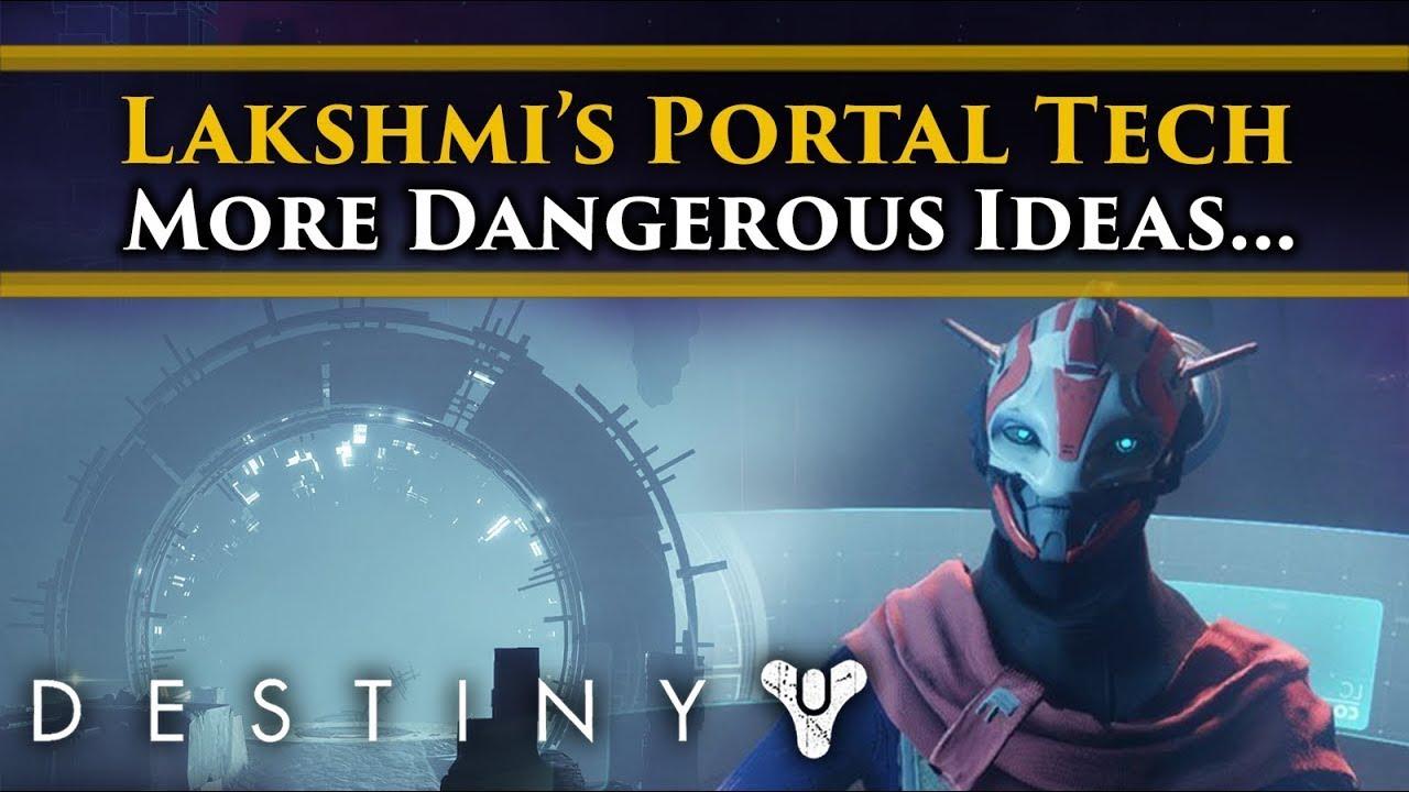 Destiny 2 Lore - Lakshmi 2 is working to utilise Vex Portal tech... That's actually a huge problem!