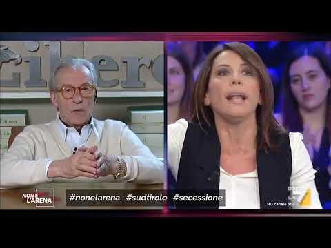 """Durissimo Scontro Tra Vittorio Feltri E Nunzia De Girolamo: """"Tu Mi Interrompi, Ma Sta' Zitta! ..."""