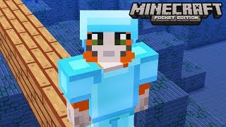 Minecraft: Pocket Edition - Ocean Stonghold - No Home Challenge