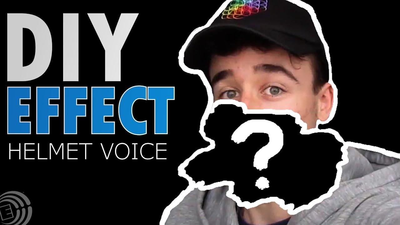 diy voice filter effect tutorial helmet effect youtube. Black Bedroom Furniture Sets. Home Design Ideas