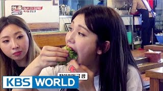 """""""Somi, can you eat all that?""""…They are crazy for food! [Sister's SlamDunk2 / 2017.04.28]"""