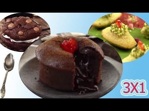 les-meilleur-et-le-plus-délicieux-trois-gâteau-(-madeleines,-moelleux-chocolat,,cookies-chocolat)