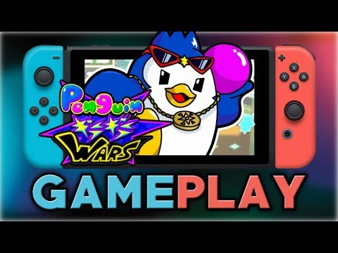 Penguin Wars | First 25 Minutes | Nintendo Switch