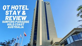 QT Hotel Stay Review of this 5 Star Hotel in Surfers Paradise Gold Coast Australia