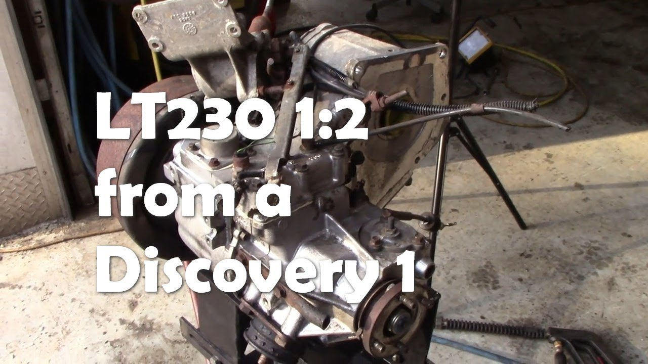 LT230 1:2 transfer case from a V8 Discovery 1  A look at the differences to  the Defender