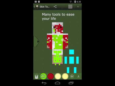 Skin Toolkit for Minecraft trailer