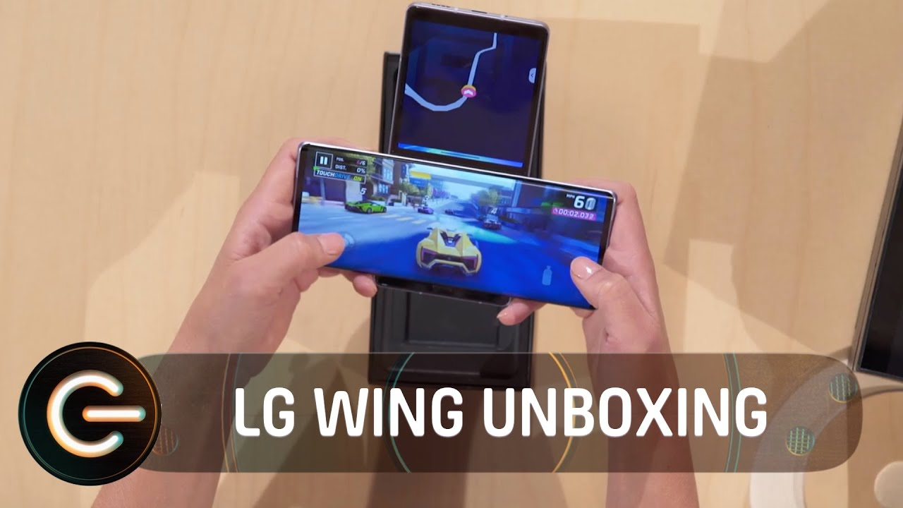 LG Wing Full Unboxing | The Gadget Show