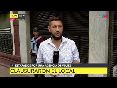 Estafados por una agencia de viajes en Palermo