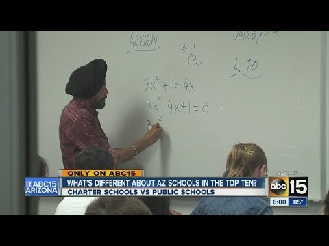 What's different about Arizona schools in the top 10