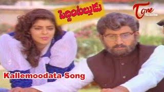 Peddinti Alludu Telugu Movie Songs || Kallemoodata || Suman || Nagma